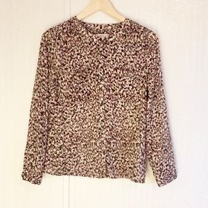 LOFT Long Sleeve Blouse